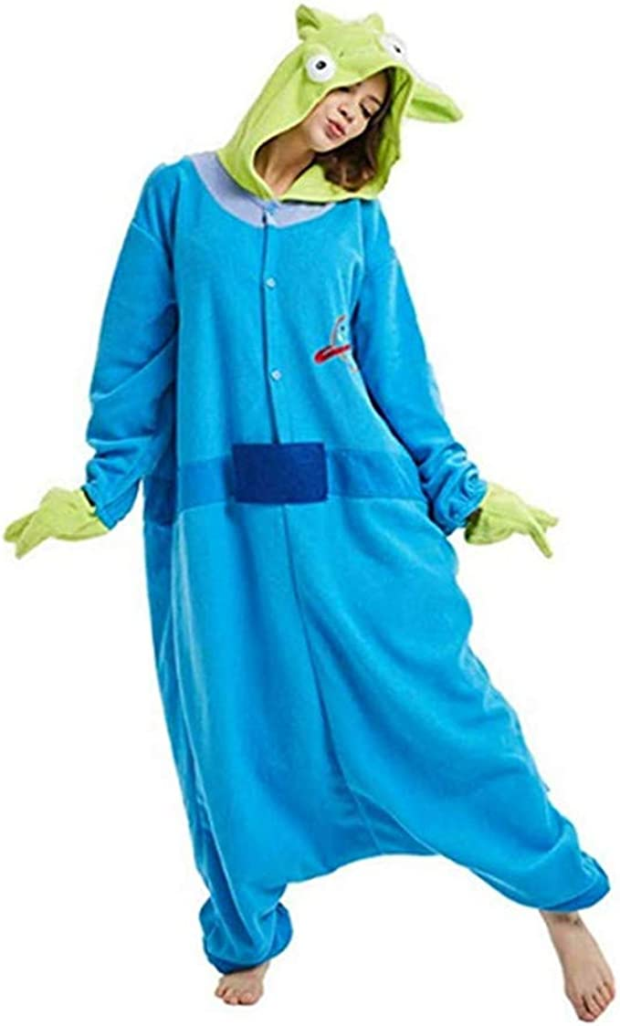 Disfraz Toy Story Alien Adultos Cosplay Pijamas: Amazon.es: Ropa y ...