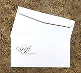Blank Gift Certificates 25set, Rose Kraft