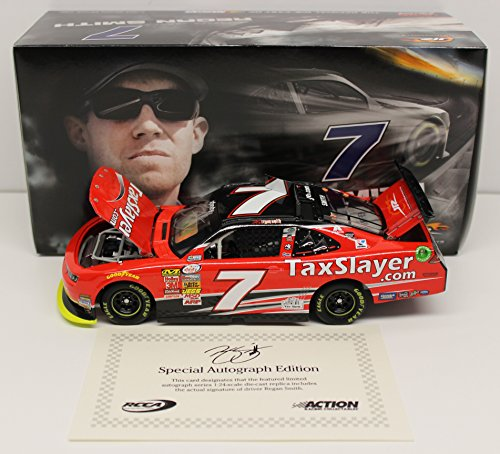 Regan Smith 2015 Taxslayer Autographed 1:24 Nascar Diecast (Regan Smith 1 24)