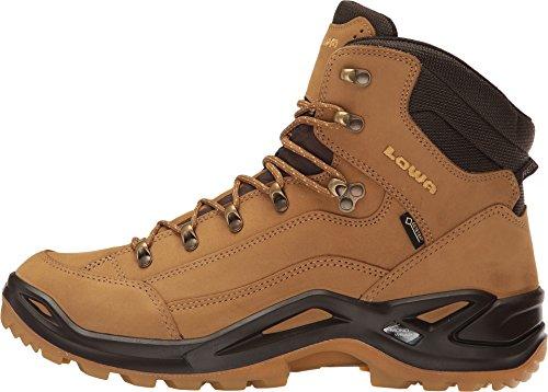 Hiking Brown GTX Boot Renegade Men's Lowa Sahara Mid Dark 4vwATn8q