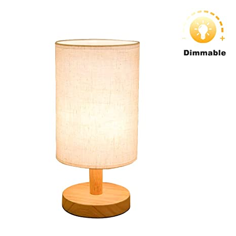 nightstand lamp with dimmer white glass dimmable bedside lamp bulb included round wood table lamp desk with dimmer e26