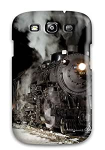 Excellent Design Black Train Case Cover For Galaxy S3