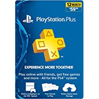 Sony PlayStation Plus 12-Month Membership [Digital Download]