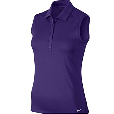 NIKE Women's Dry Sleeveless Victory Polo