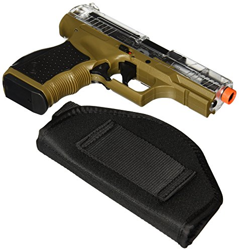 Crosman-Stinger-P9T-Soft-Air-Pistol-Clear-Dark-Earth