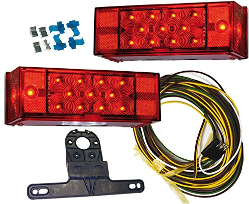 trailer light led low profile - 8
