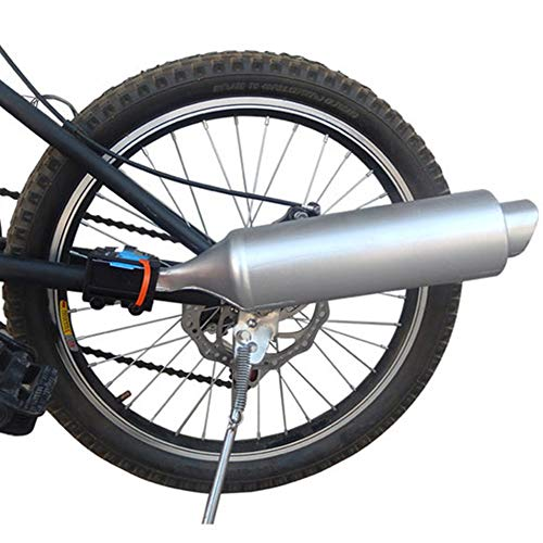 - BEYST Bicycle Exhaust Sound System,Bike Turbo Exhaust Pipe with Sound Effect Motorcycle Noise Maker Cycling Accessories 35 x 7.5 cm(as The Picture)