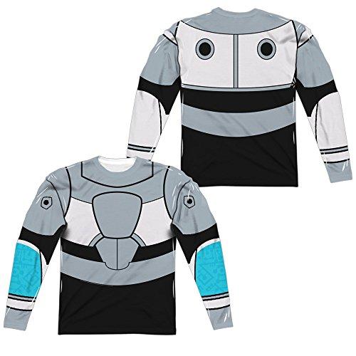 Teen Titans Go - Cyborg Uniform Costume All