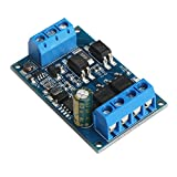 DROK Dual MOS Tube DC 4-60V Trigger Switch Driver Module 10A PWM Controller Adjustment Electronic Switch Control Board 600W High Power for DC Motor LED Light Micro-pump