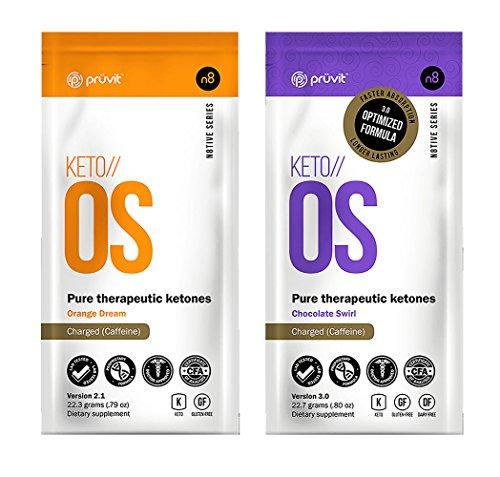 KETO//OS ORANGE Dream & CHOCOLATE Swirl CHARGED BHB Salts Ketogenic Supplement B 769560745423 | eBay