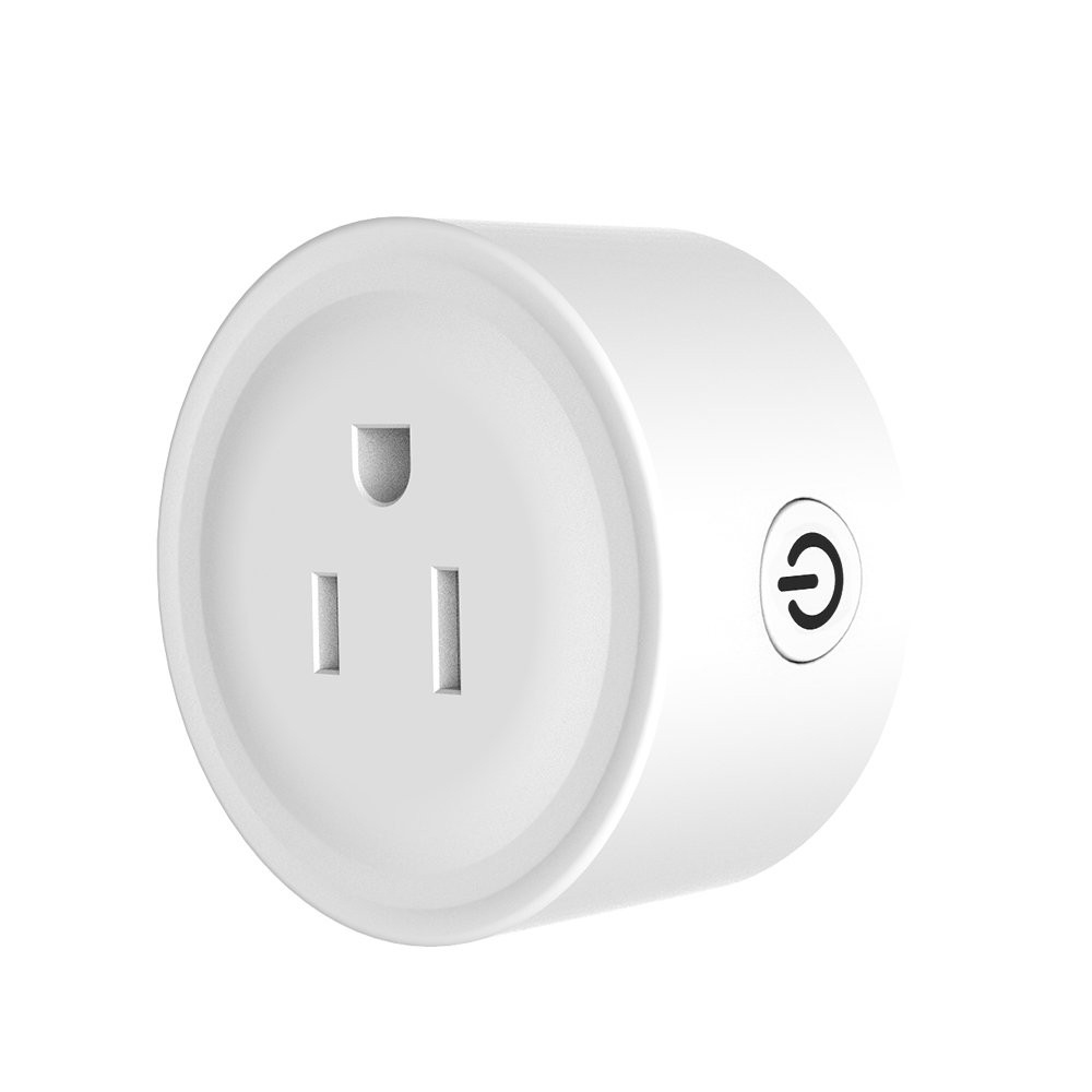 Bahff Wifi Plug/Wifi Plug outlet/mini wifi outlet works with Alexa Google home for voice control, no Hub required,Fcc listed smart socket/smart plug