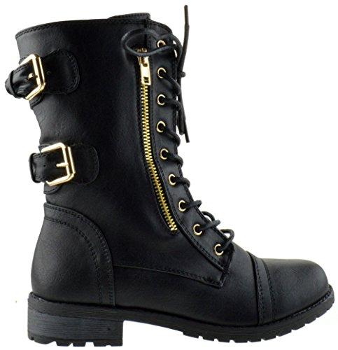72 71 Women Boots Black Top Pack Moda xUYfqcw6t0