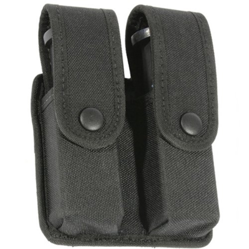 BLACKHAWK! Divided DBL Mag Case 44A057BK DBL ROW TRAD CORDURA
