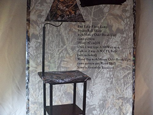 Elegant Mossy Oak Furniture Floor Lamp, Brown By Mossy O