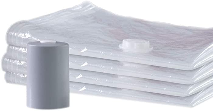 PAC 'N STACK - Handheld Vacuum Sealing Storage with Bags