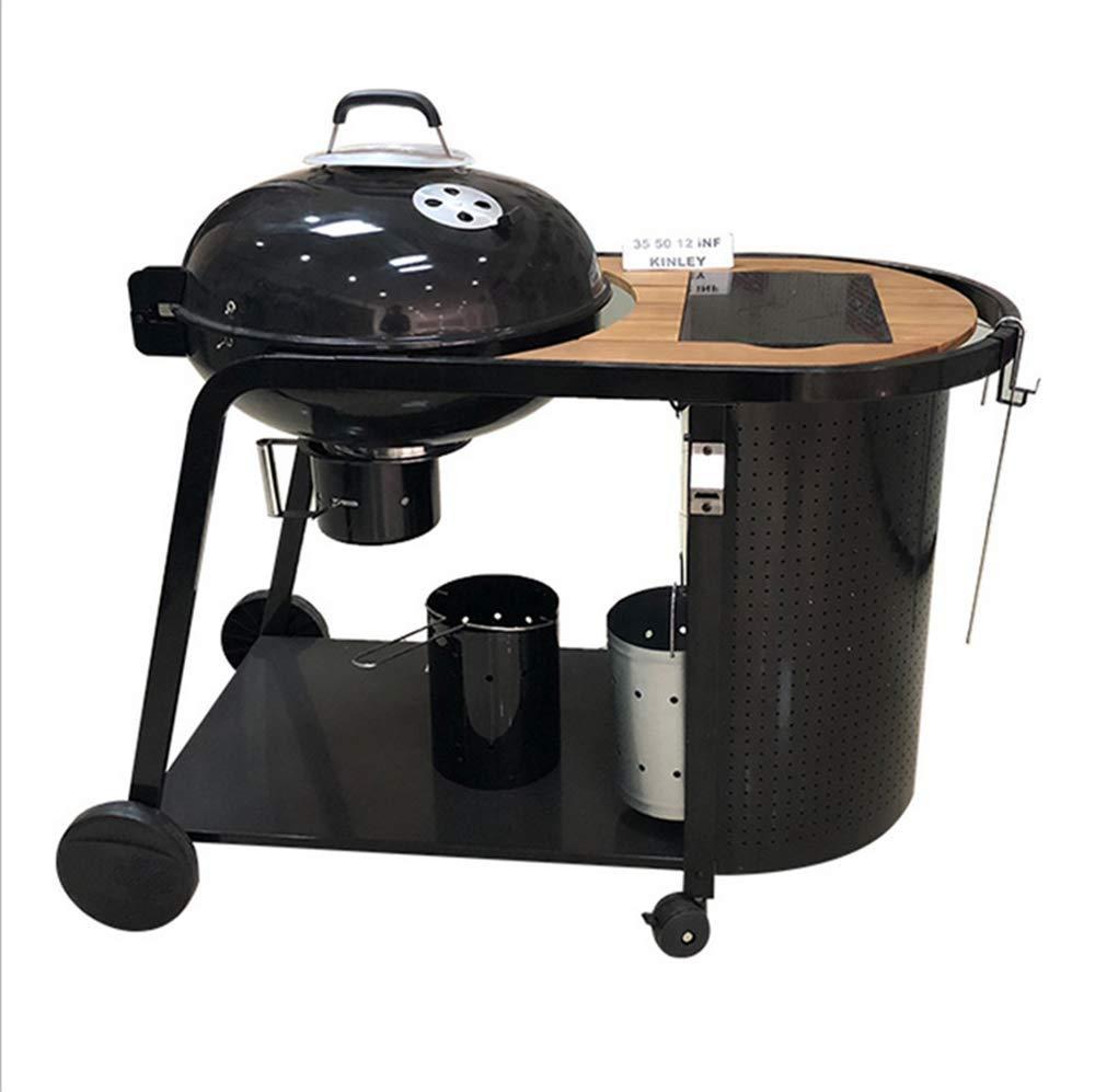 Cortile BBQ, grande BBQ box, giardino esterno con stile europeo di lusso, barbecue stufa