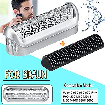 ljym88 Braun - Afeitadora eléctrica de Repuesto para Braun 5S, con ...