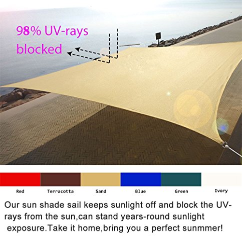Quictent New Outdoor 24 39 X 24 39 Square Oversized Sun Shade