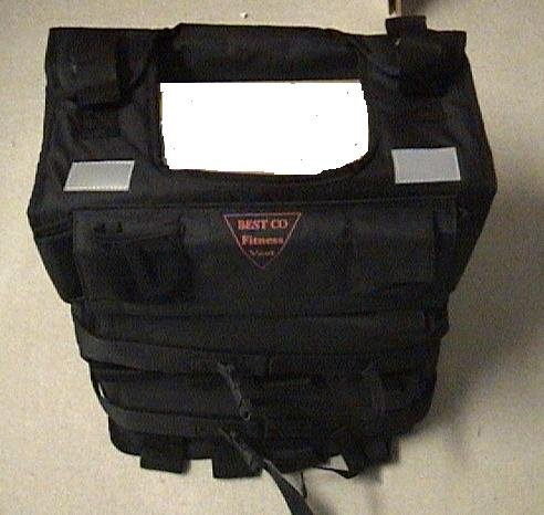 New Weight Vest: 100 Lbs Exercise Training Vest by Bestco (Image #1)'