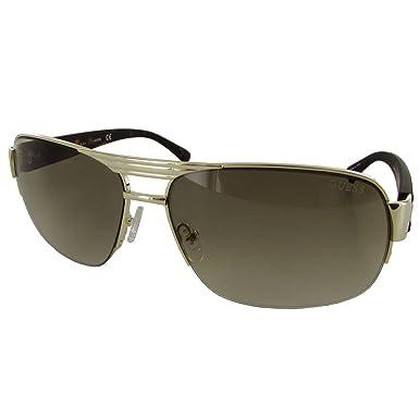 d851b12f9d Guess Mens GU6831 130 Rectangular Fashion Sunglasses