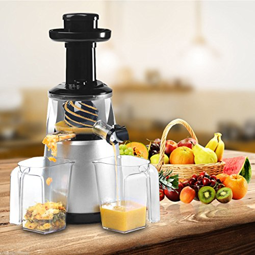 New Commercial Slow Juicer Machine Juice Masticating Fruit Vegetable Extractor Maker