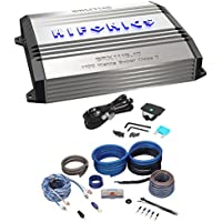 New Hifonics Brutus BRX1116.1D 1100 Watt RMS Class D Mono Car Amplifier+Amp Kit