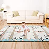 Bammax Play Mat, Folding Mat Non Toxic Baby Crawling Mat Waterproof Kids Playmat for Babies, Infants, Toddlers