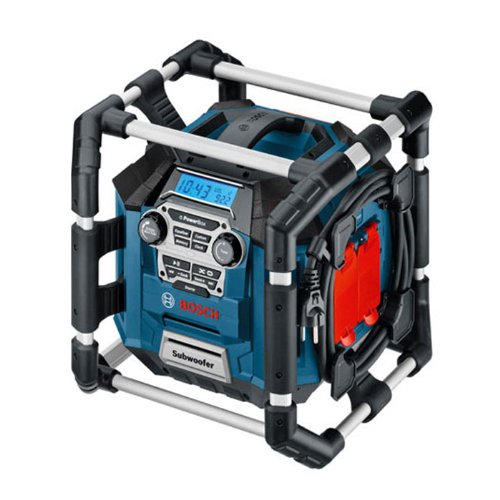 Carton Without Battery and Charger Bosch Professional GML 20 PowerBox Cordless Jobsite Site Radio