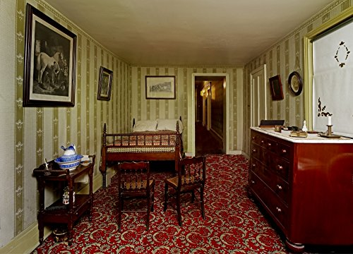 Bedroom in which Lincoln Died in the Petersen House Poster P