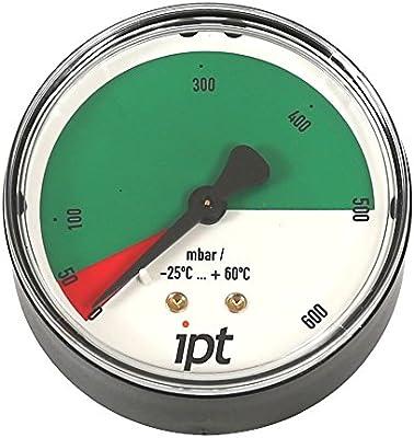 Manómetro, - Tensiómetro con tubo Muelle, tipo 111.12, ng63 ...