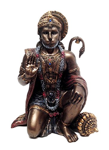 Ebros Gift Ramayana Hanuman Monkey Hindu God Statue Decorative Figurine 6