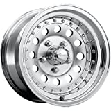Pacer 162M ALUMINUM MOD Wheel with Machined Finish (16x8