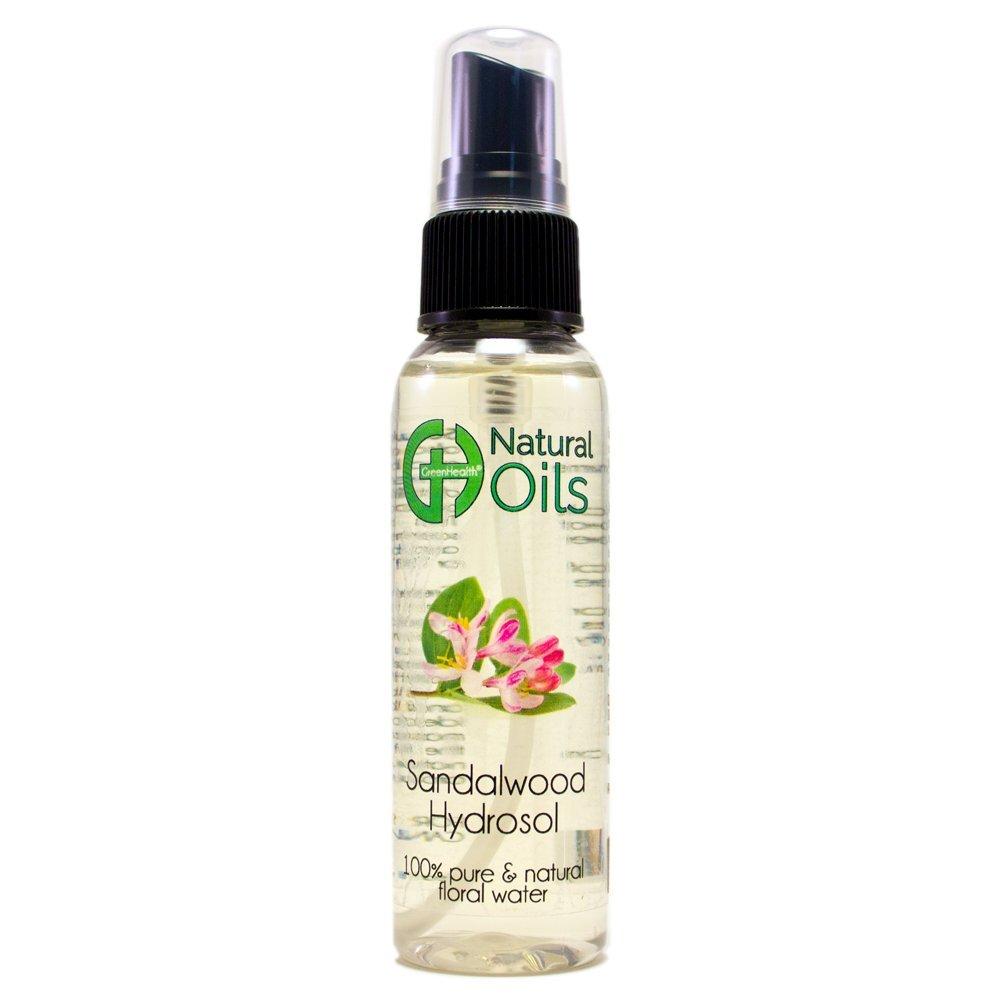 Peppermint Hydrosol - 2 fl oz Plastic Bottle w/Black Spray Cap - 100% pure, distilled from essential oil Wfmed