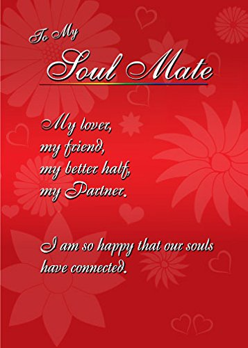 Amazon soulmate weddinganniversary greeting card other soulmate weddinganniversary greeting card m4hsunfo