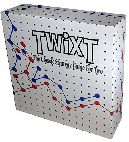 TwixT Strategy Board Game STEM Toy for Boys and Girls Age 8 and up ()