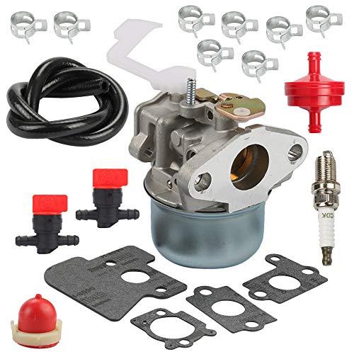 Milttor 694203 690152 Carburetor Fuel Line Filter Fit Briggs & Stratton 121602 121607 121612 122602 Engine