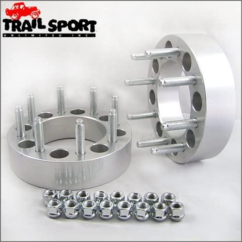 trailsport4x4 2 inch Adapter Kit for Ford - 8x6.5 Hub to 8x170 Wheel