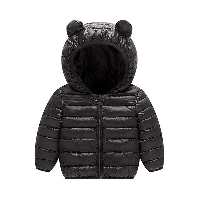 Amazon.com: JIANLANPTT - Chaqueta de invierno con capucha ...