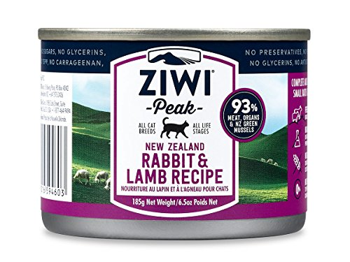 Ziwipeak Air (Ziwi Peak Canned Rabbit & Lamb Cat (12 Pack, 6.5 oz. each))