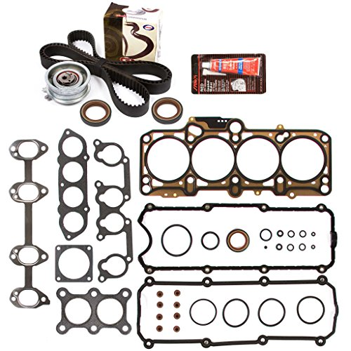 Evergreen HSTBK9020 Head Gasket Set Timing Belt Kit 98-06 VW Beetle Golf Jetta 2.0L BEV AVH AZG AEG - Golf Cylinder Head