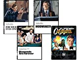 James Bond 007 Collection 4-Film DVD - For Your Eyes Only/ Diamonds Are Forever/ Moonraker/ The Man With The Golden Gun