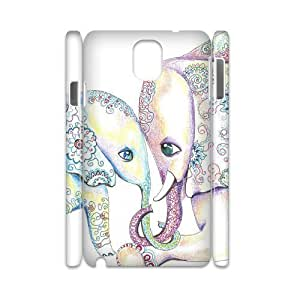 Elephants 3D-Printed ZLB612286 Customized 3D Cover Case for Samsung galaxy note 3 N9000