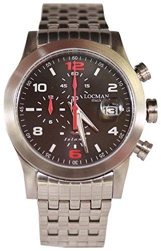 LOCMAN watch ISLAND 0618A07-00GYWRB0 Men's