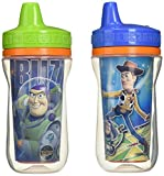 The First Years 2 Pack 9 Ounce Insulated Sippy Cup, Toy Story (Color and design may vary)