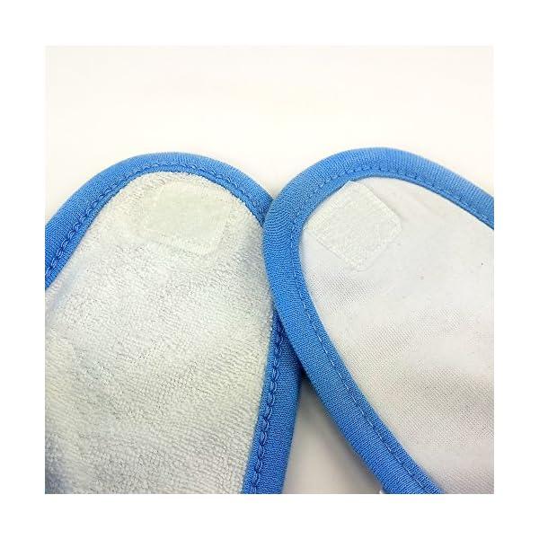 Babero Bebé Personalizado con tu Foto/Imagen/Nombre/Texto | Regalos Bebés Recién Nacidos Azul 6