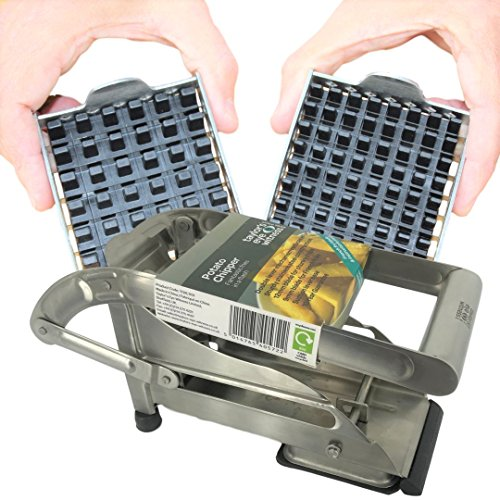 Vegetable and Potato Chip Cutter – Professional Grade Stainless Steel...