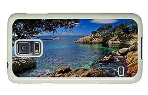 Hipster Samsung Galaxy S5 Case free cases costa brava coast spain PC White for Samsung S5