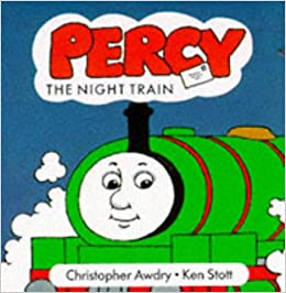 Percy And The Night Train Thomas The Tank Engine New Chunky Board