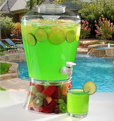 2 Gallon Cold Beverage/Drink Dispenser (2 Gallon Classic)]()