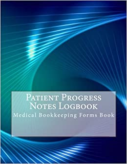 patient progress notes logbook medical bookkeeping forms book